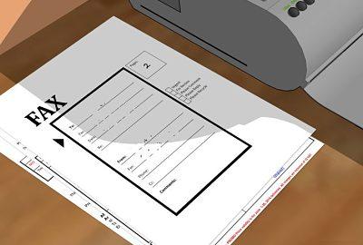 caratula de fax