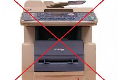 maquina fax tradicional