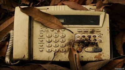 un fax vintage